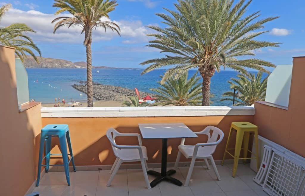 Studio apartment with sea views for sale in Tenerife Royal Gardens Las Americas Tenerife